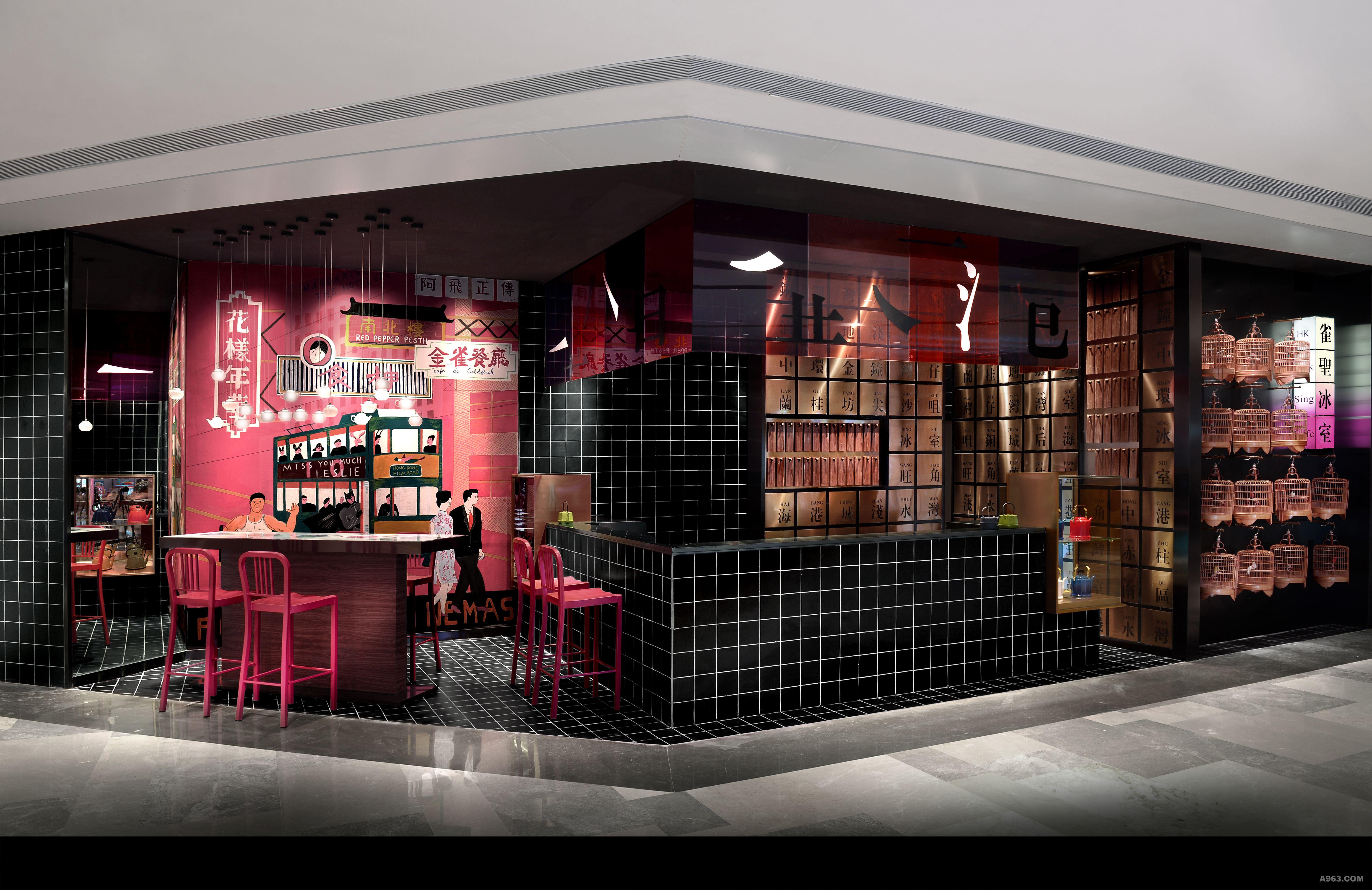雀圣冰室 - 餐饮空间 - 徐代恒设计作品案例