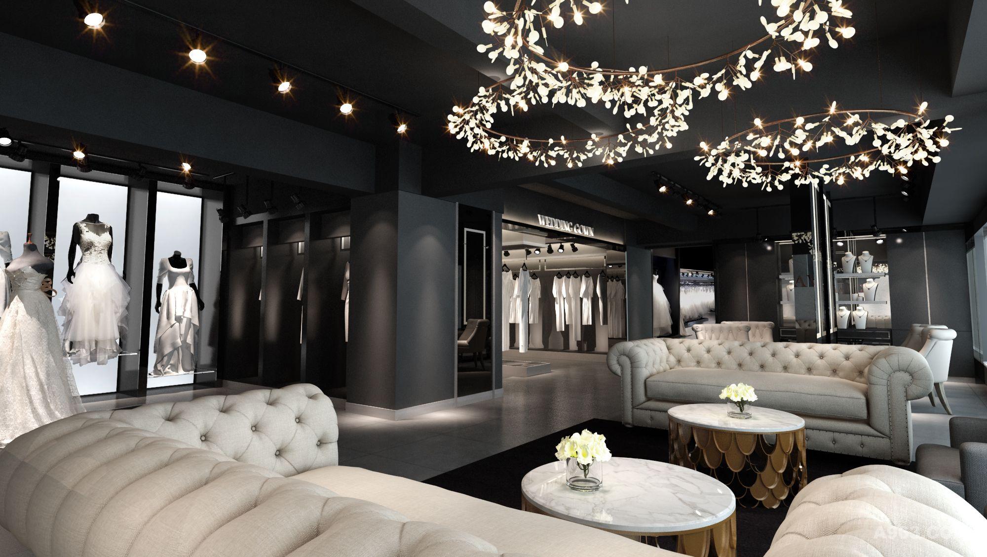 薇佳婚纱礼服馆 - 商业空间 - 第3页 - 林彬 设计作品